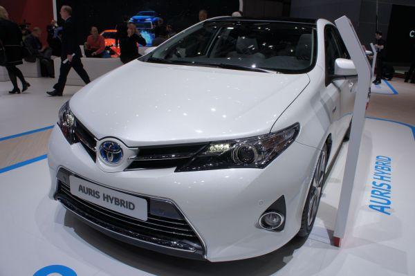 Toyota au Mondial de Paris 2014