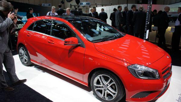 Salon de l'auto de Genève 2012, Mercedes Benz