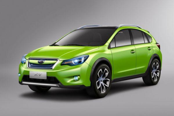 Subaru präsentiert an der IAA 2011 den neuen XV AWD