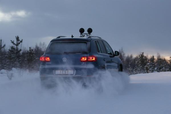 Test TCS de pneus d'hiver 2017