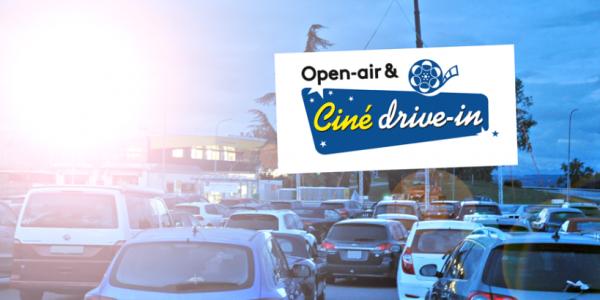 TCS Ciné drive-in & Open-air, expérience à l'ancienne!!!