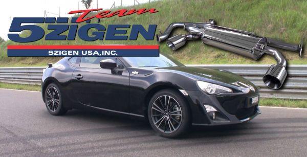 GT86 Toyota: Accessoires 5ZIGEN Pro Racer ZZ – un meilleur sound pour la nouvelle sportive