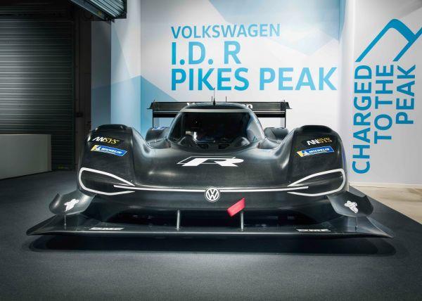 La Volkswagen I.D. R Pikes Peak