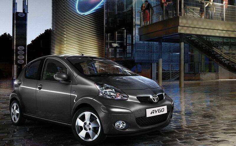 nichts ist unmöglich» für Toyota Aygo quot;easyquot;  Road and Motors